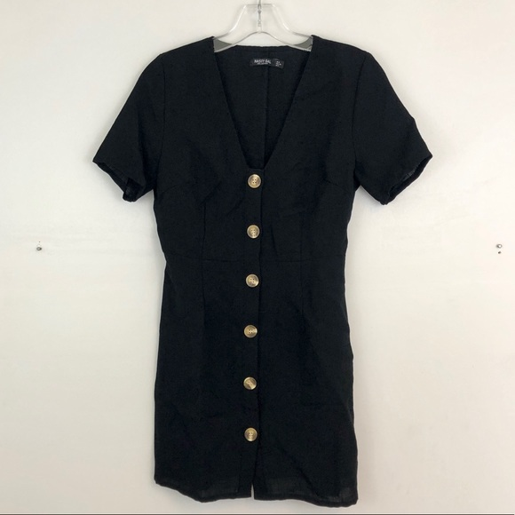 Nasty Gal Dresses & Skirts - Nasty Gal Button Down Dress (B2)